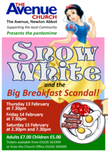 Avenue Pantomime - Snow White & the Big Breakfast @ The Avenue Church